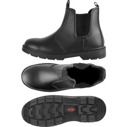 Blackrock Dealer Safety Boots Black Size 10 - 99592 - from Toolstation