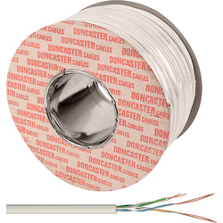Doncaster Cables Doncaster Cables Telephone Cable 3 Pair x 100m White Drum - 99639 - from Toolstation