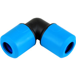 JG Speedfit JG Speedfit MDPE Equal Elbow 25mm - 99677 - from Toolstation