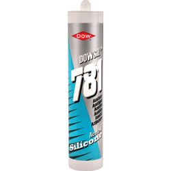 Dow DC781 Dow Corning Acetoxy Silicone 310ml Clear - 99701 - from Toolstation