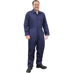 Zip Front Coverall Small