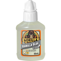 Gorilla Glue Gorilla Glue Clear 50ml - 99859 - from Toolstation