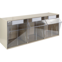 Barton Tilt Storage Bin 240 x 600 x 197mm - 99865 - from Toolstation