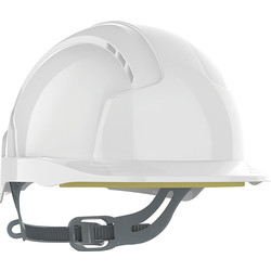 JSP EVOLite® Slip Ratchet Vented Safety Helmet White