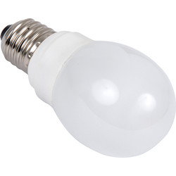 Sylvania Sylvania Energy Saving CFL Golfball Lamp T2 9W ES 450lm A - 99953 - from Toolstation