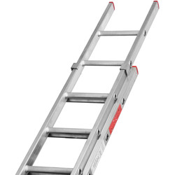 Lyte Ladders Lyte Domestic Extension ladder 2 section, Closed Length 3.8m - 99961 - from Toolstation