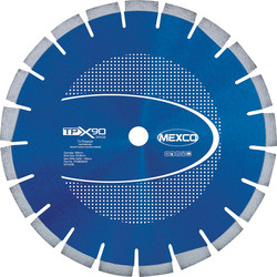Mexco Mexco Granite/Concrete/Asphalt Cutting Diamond Blade 300mm - 99997 - from Toolstation