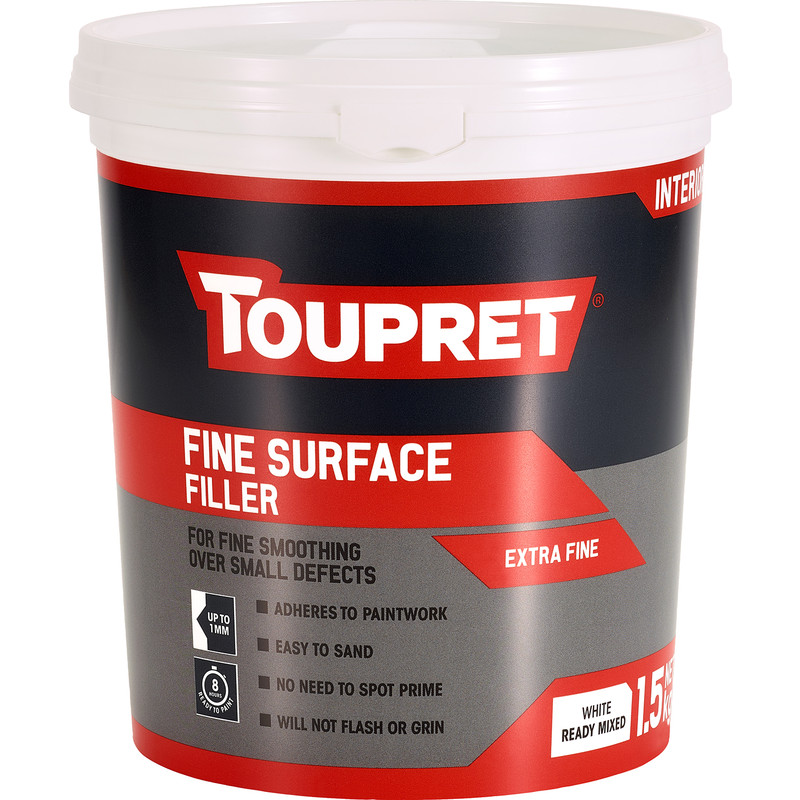 Toupret Ready Mixed Fine Surface Filler