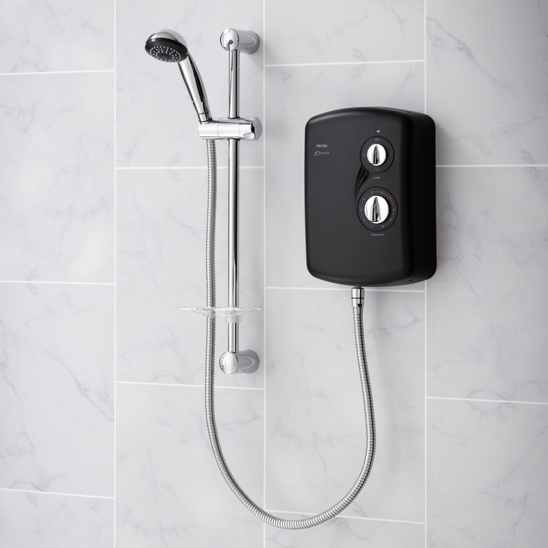 Triton Zenica Black Electric Shower