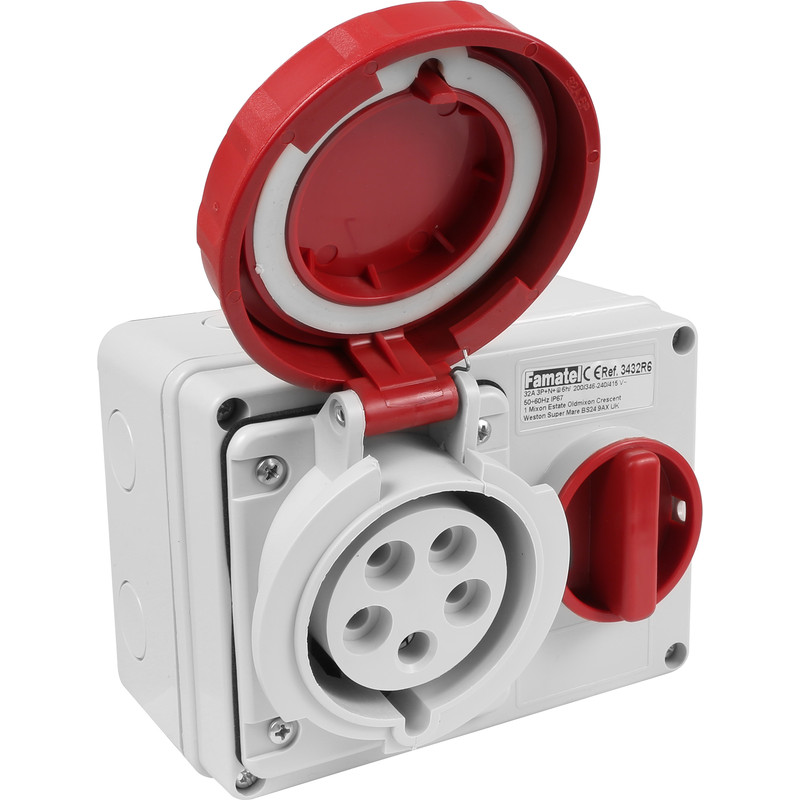 Industrial Socket IP67