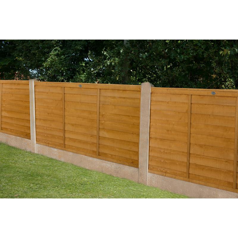 Forest Garden Overlap Fence Panel