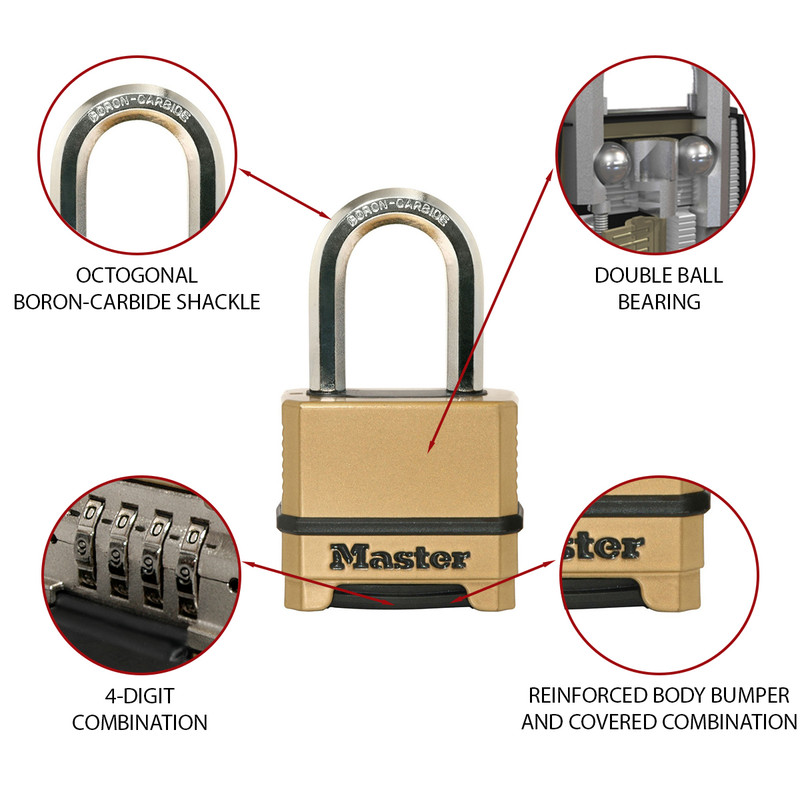 Master Lock EXCELL Combination Padlock