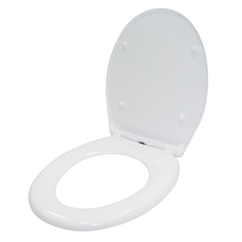 Croydex Constance Thermoset Soft Close Toilet Seat