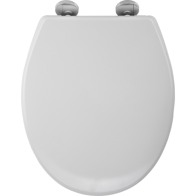 Wenko Toilet Seat Hygienic Safety Due To The 1 On Fix Clip Stainless Steel Hinges With Help Of A Rubber Insert Which Is Fixed Together