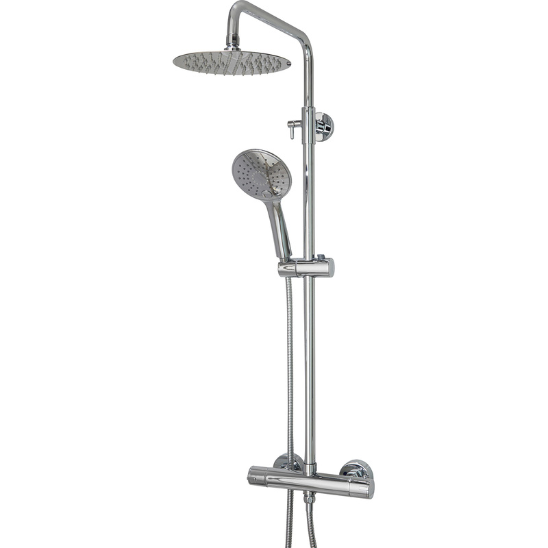 Spey 2 Thermostatic Rain Mixer Shower Valve & Kit