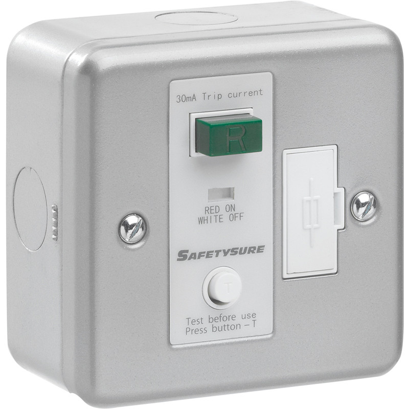 SafetySure RCD Spur Metalclad