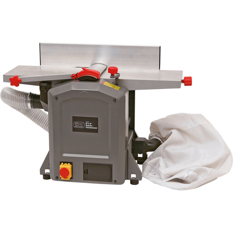 """SIP 8 x 8"""" 1500W Planer/Thicknesser with Extraction"""