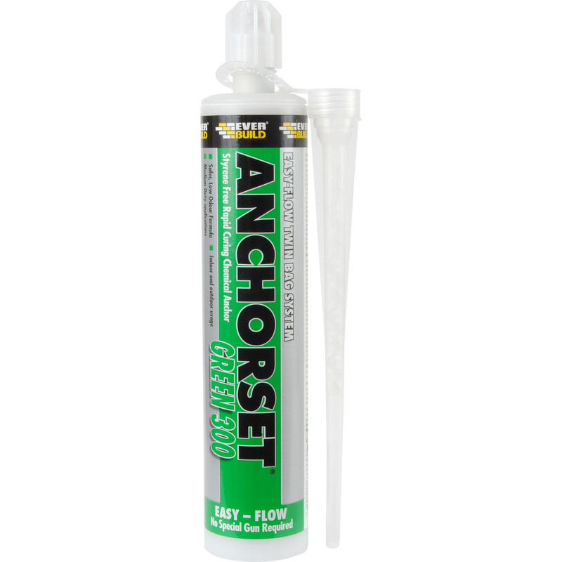 Everbuild Anchorset Green 300 Chemical Anchor