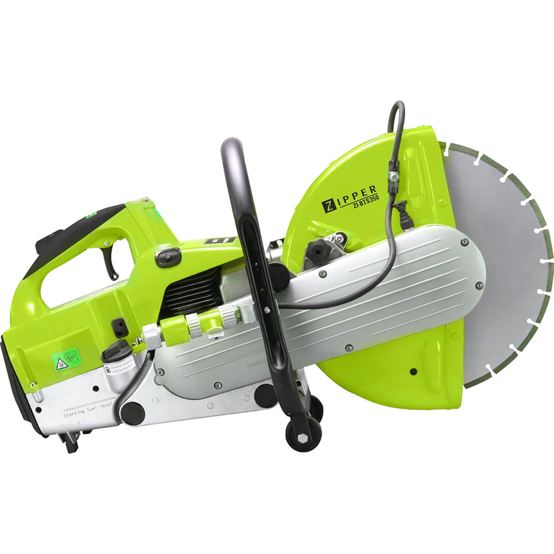 Zipper BTS350 3.6 H Petrol Portable Concrete Saw
