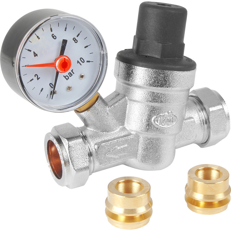 Pressure Reducing Valve and Gauge