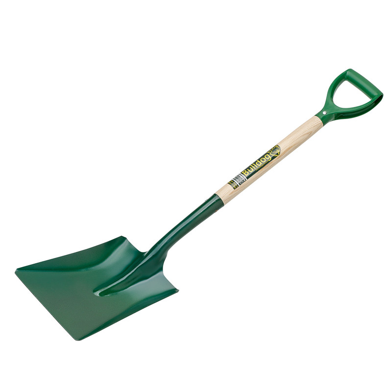 Bulldog Square Mouth No.2 Open Socket Shovel