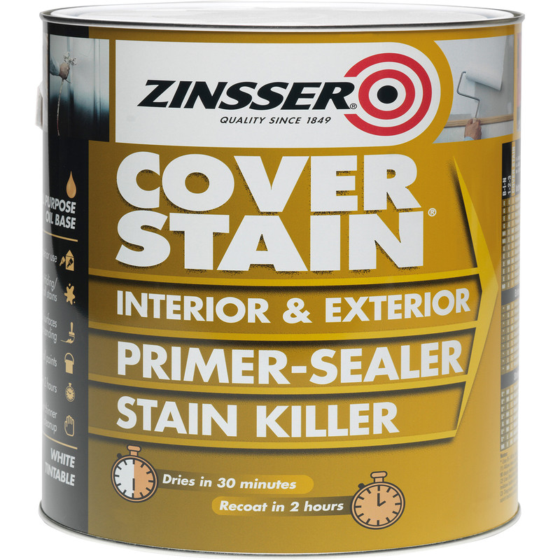 Zinsser Cover Stain Primer Paint