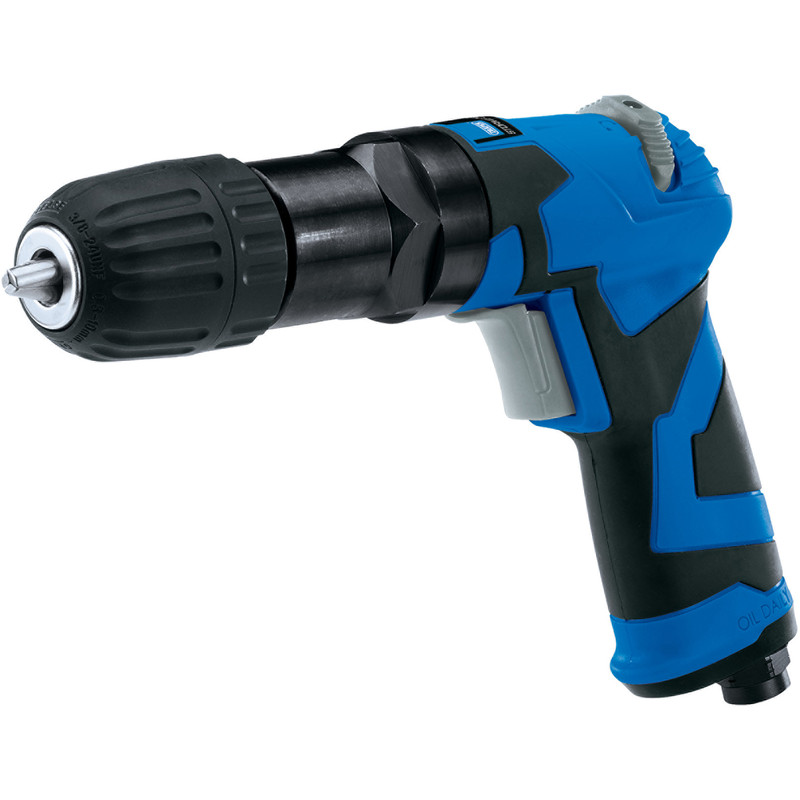 Draper Reversible Keyless Chuck Air Drill