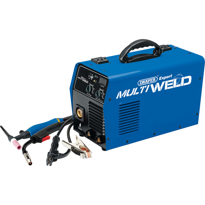 Draper 200A Multi Process Welder (MIG/MMA/ARC)