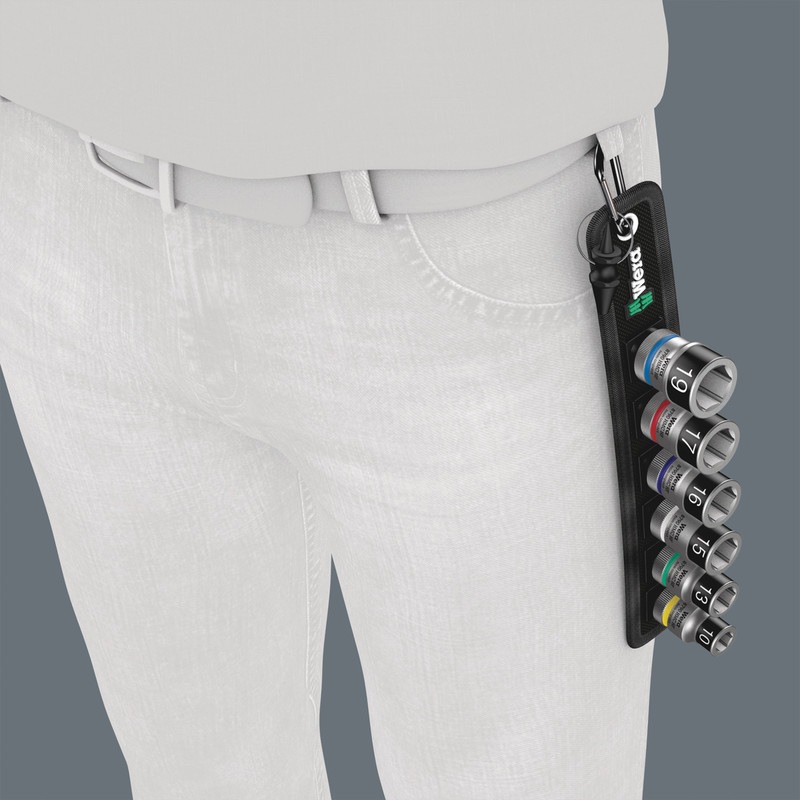 Wera Belt 1/2 Inch Zyklop Holding Function Socket Set
