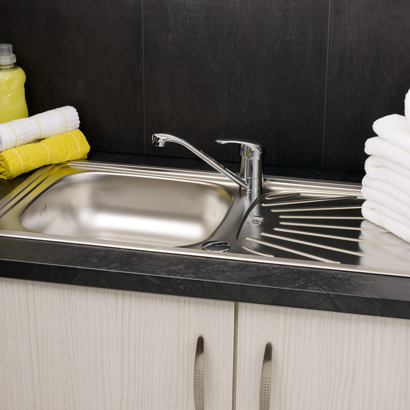 Reginox Reversible Stainless Steel Kitchen Sink