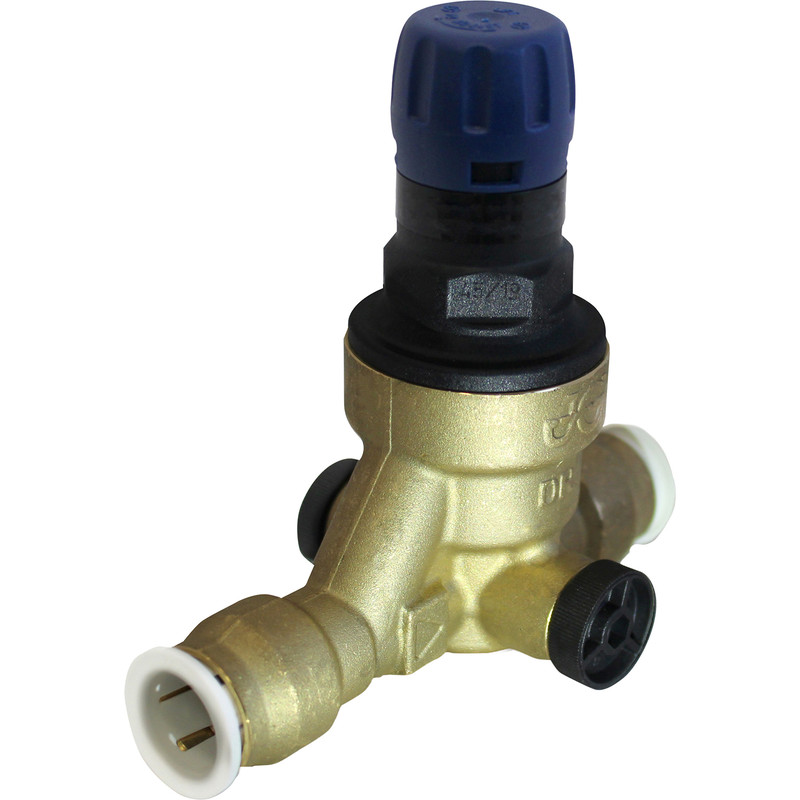 Reliance 312 Compact Pressure Reducing Valve - Push Fit