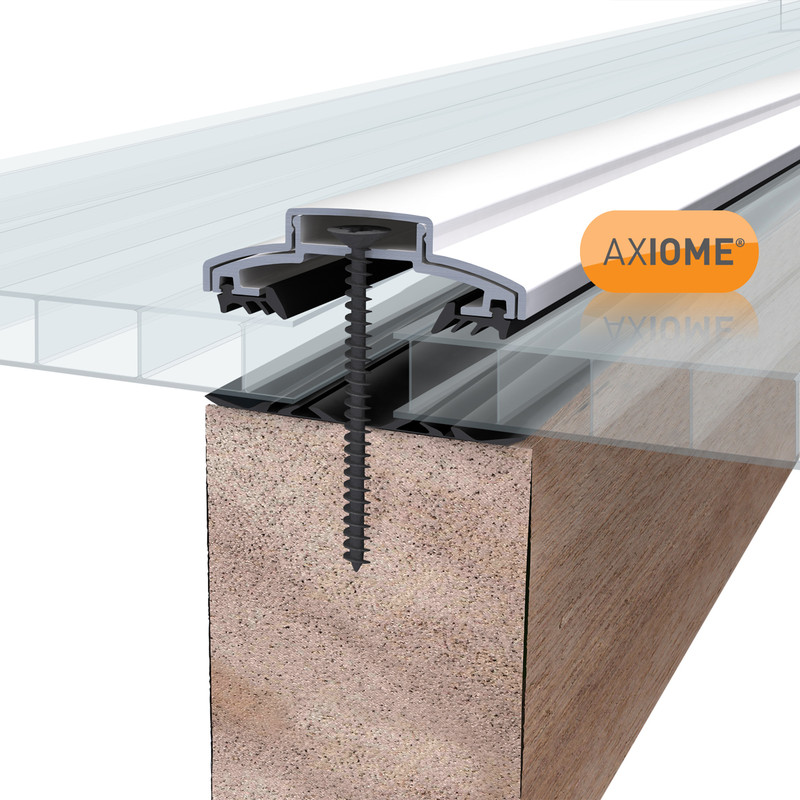 Axiome 10mm Polycarbonate Clear Twinwall Sheet