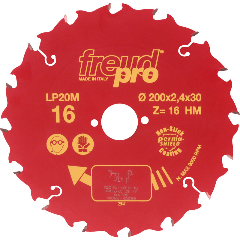 LP20M TCT Saw Blade for Long Grain Cutting