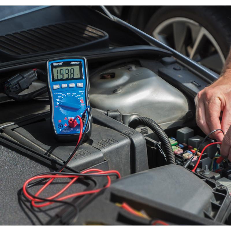 Draper Automotive Digital Multimeter