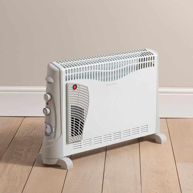 Daewoo Turbo Convector Heater & Timer