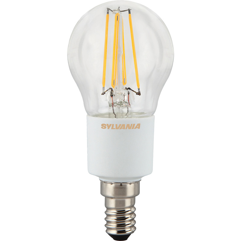 Sylvania LED Filament Effect Dimmable Ball Lamp