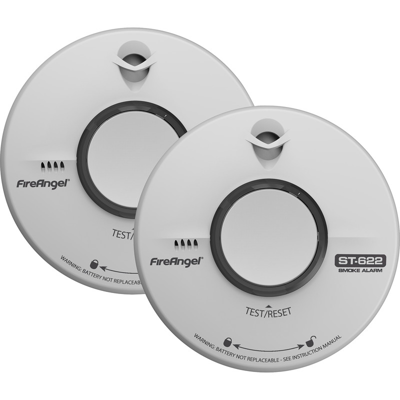 FireAngel 10 Year Battery Smoke Alarm