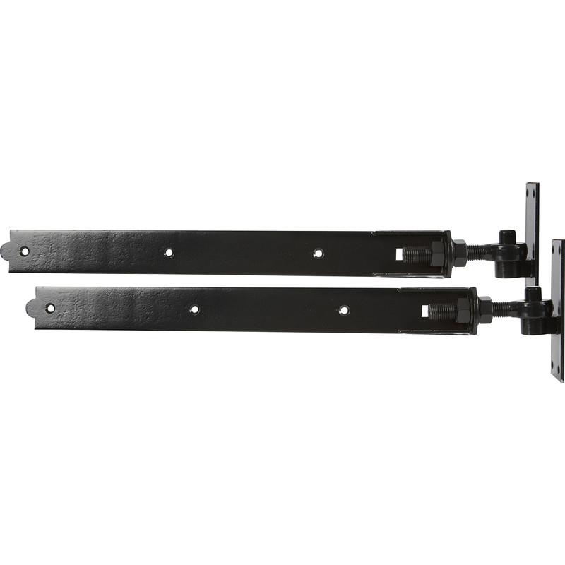 GATEMATE Premium Black Adjustable Bands & Hook