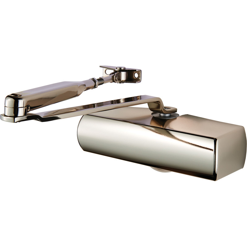 Plated Full Cover Overhead Door Closer Size 3