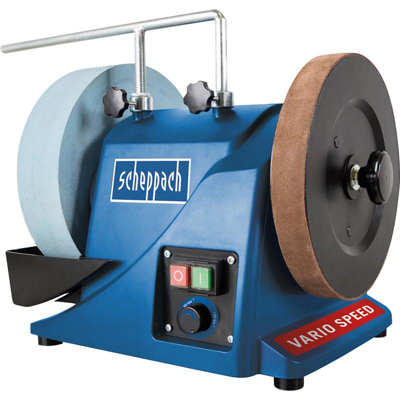 Scheppach TIGER3000VS 180W 250mm Variable Speed Wet Stone Sharpener