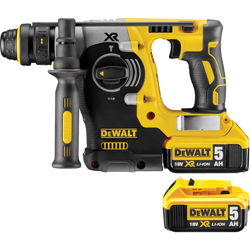 DeWalt DCH274P2-GB 18V Li-Ion Brushless SDS Hammer Drill