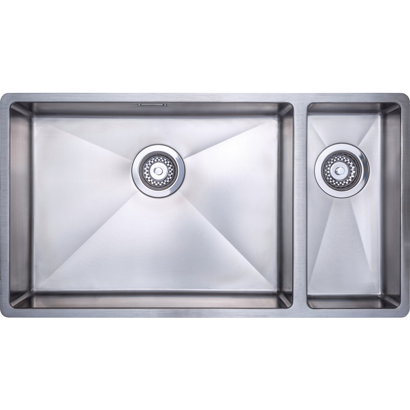 Stainless Steel Large 1.5 Bowl Kitchen Sink