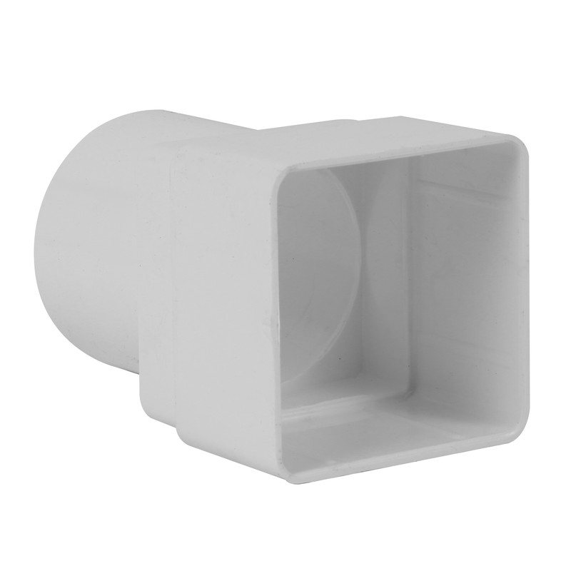 65mm Square - Round Adaptor