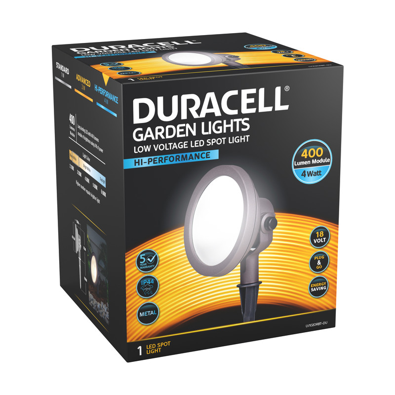 Duracell LV LED Wall Wash Floodlight IP44