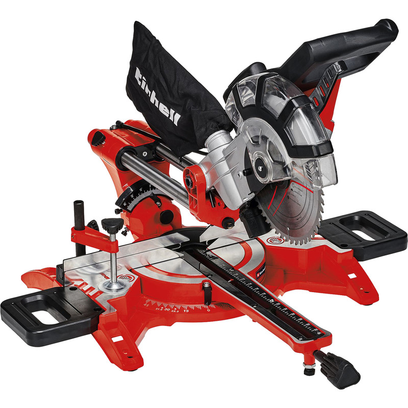 Einhell TC SM2131 210mm Double Bevel Sliding Crosscut Mitre Saw