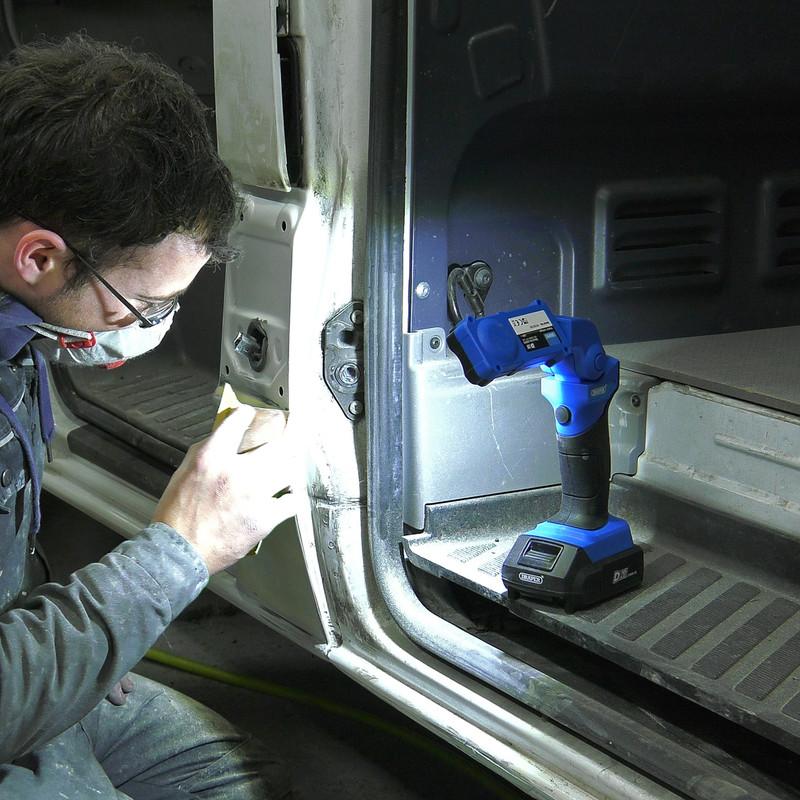 Draper D20 20V LED Flexible Inspection Light