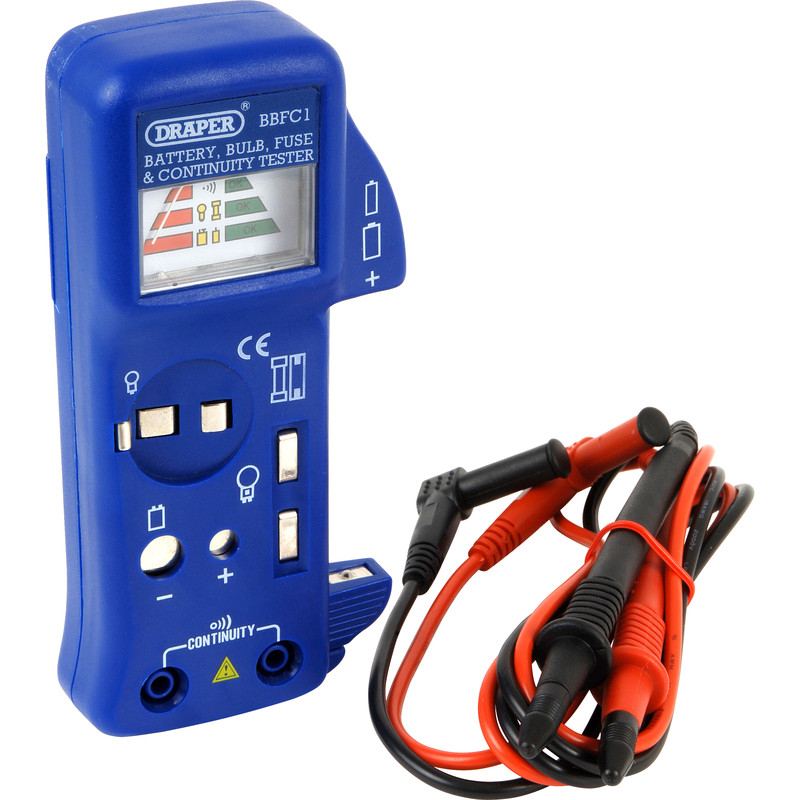 Battery Bulb Fuse & Continuity Tester