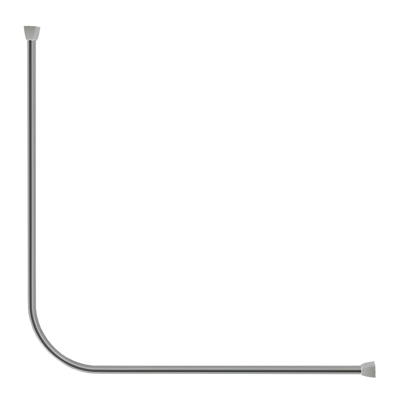 Croydex Slenderline Shower Track Kit