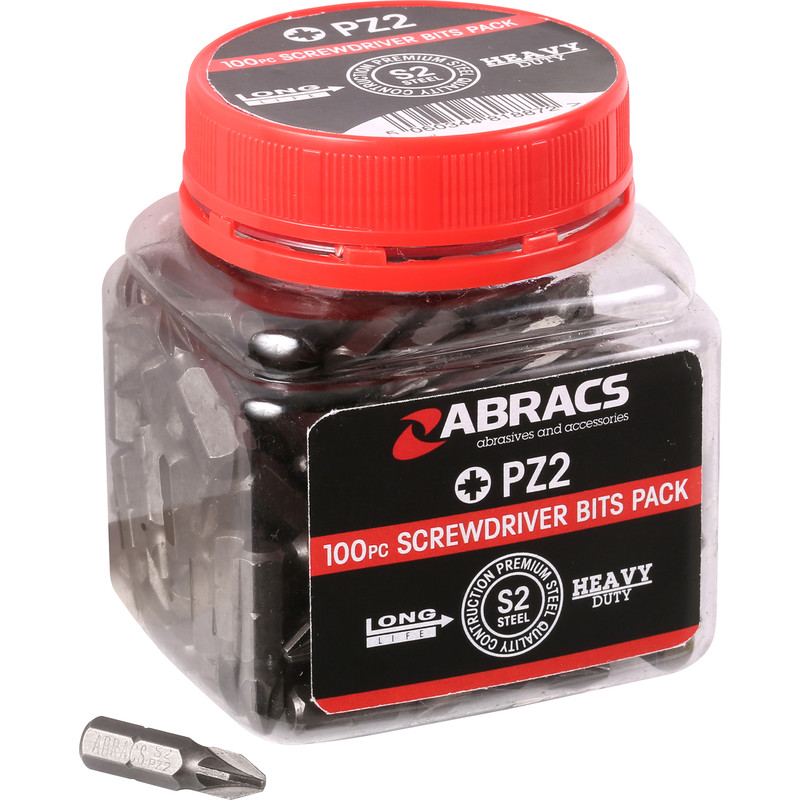 Abracs S2 Screwdriver Bits