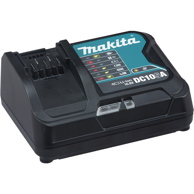 Makita DC10SA 10.8V Li-Ion Fast Battery Charger